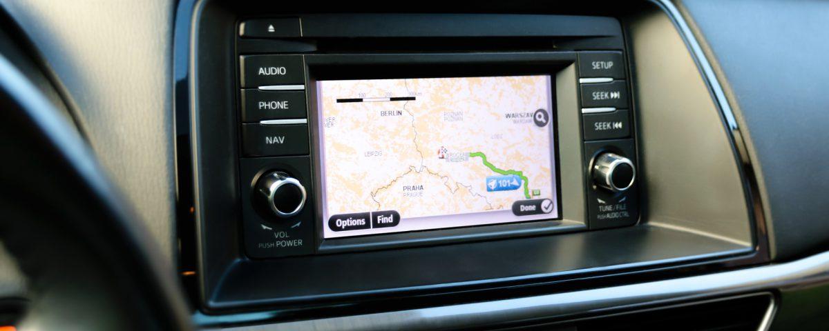 Een ingebouwd navigatiesysteem